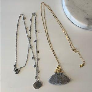 NWOT long boho necklaces